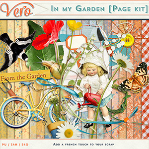 In My Garden Page Kit by Vero
