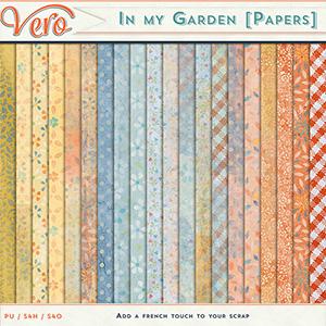 In My Garden Papers by Vero