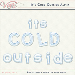 It's Cold Outside Alpha by Vero