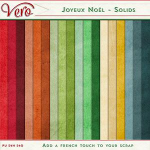 Joyeux Noel Solids by Vero