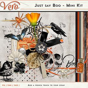 Just say Boo - Mini Kit by Vero