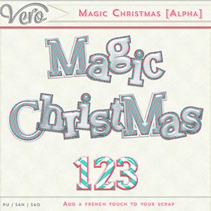 Magic Christmas Alpha by Vero