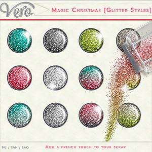 Magic Christmas - Glitter Styles