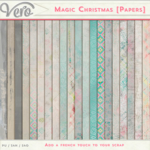 Magic Christmas Papers by Vero