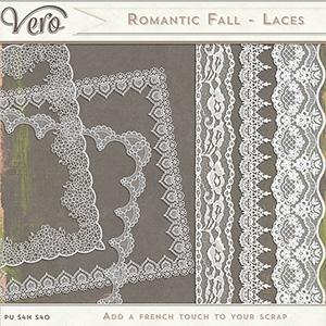 Romantic Fall Lace Borders by Vero