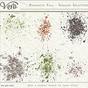 Romantic Fall - Splatters