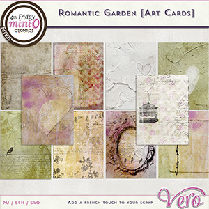 Romantic Garden - Art Cards