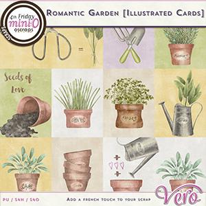 Romantic Garden Cards by Vero