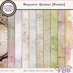 Romantic Garden - Papers