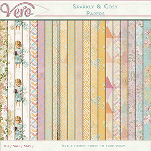 Sparkly and Cosy - Papers