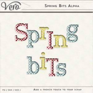 Spring Bits Alpha by Vero