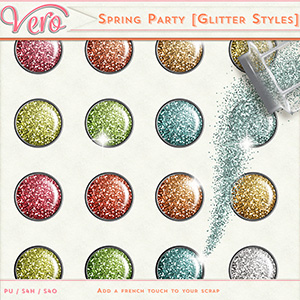 Spring Party - Glitter Styles