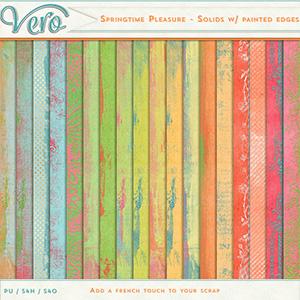 Springtime Pleasure - Solids with painted Edges