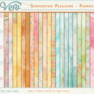 Springtime Pleasure - Papers