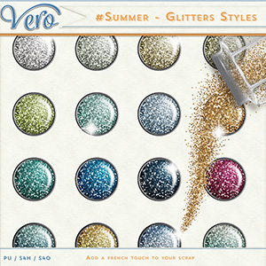 #Summer - Glitter Styles