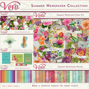 Summer Newspaper Collection by Vero
