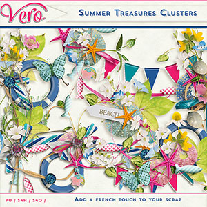 Summer Treasures Clusters by Vero