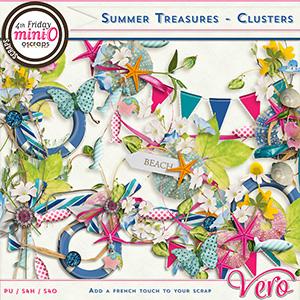Summer Treasures - Clusters