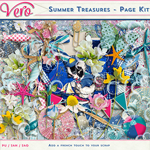 Summer Treasures - Page Kit