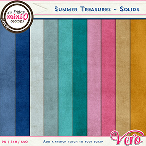 Summer Treasures - Solids