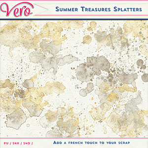 Summer Treasures Splatters by Vero