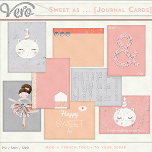 Sweet As ... - Journal Cards