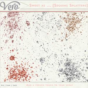 Sweet As ... - Sequins Splatters