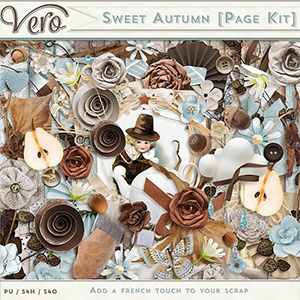 Sweet Autumn Page Kit by Vero