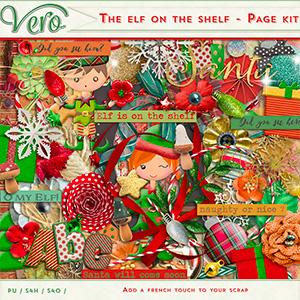 The elf on the shelf - Page Kit plus FREE alpha