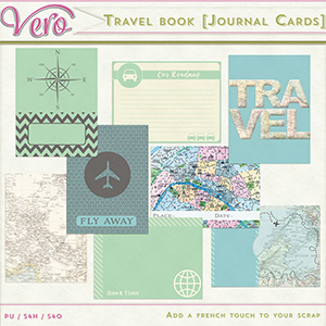 Travel Book [Journal Cards]