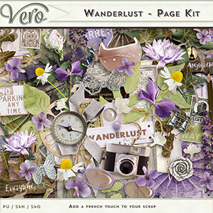 Wanderlust - Page Kit