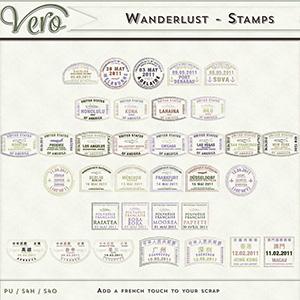 Wanderlust - Visa Stamps