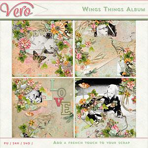 Wings Things Album by Vero
