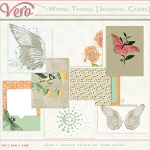 Wings Things - Journal Cards