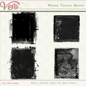 Wings Things Masks by Vero