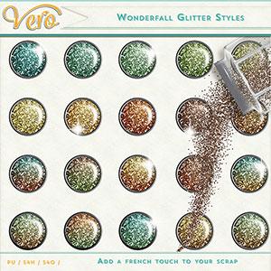 Wonderfall Glitter Styles by Vero