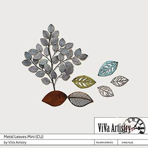 Metal Leaves Mini (CU)