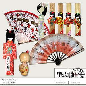 Asian Dolls CU