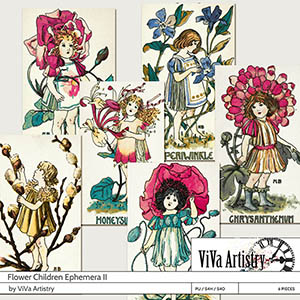 Flower Children Ephemera 2