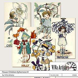 Flower Children Ephemera 4