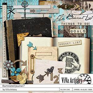 Illuminated Journal 7