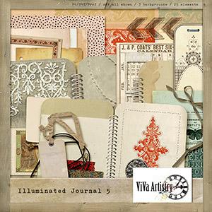 Illuminated Journal 5