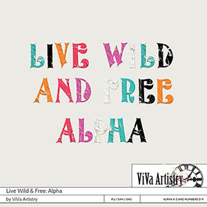 Live Wild & Free: Alpha