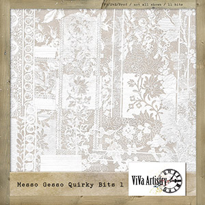 Messo Gesso Quirky Bits 1