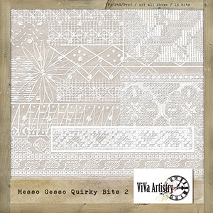 Messo Gesso Quirky Bits 2