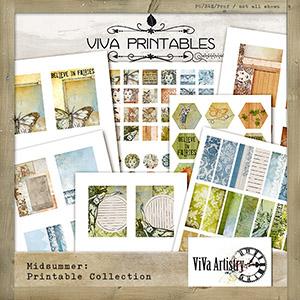 Midsummer: Printable Collection