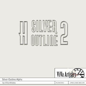 Silver Outline Alpha