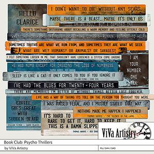 Book Club: Psycho Thrillers