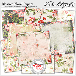 Blossom Floral Papers
