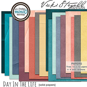 Day In The Life - Solid Papers